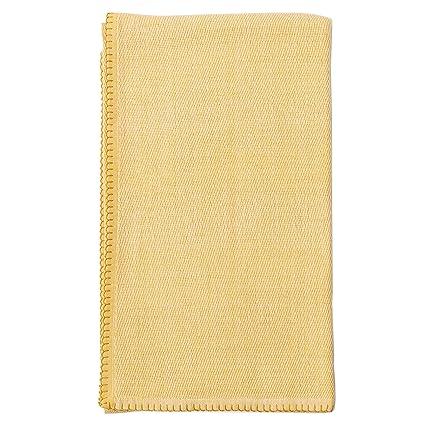 Amazon Zestt 40% Organic Cotton Winston Throw Blanket Blanket Best Citron Throw Blanket