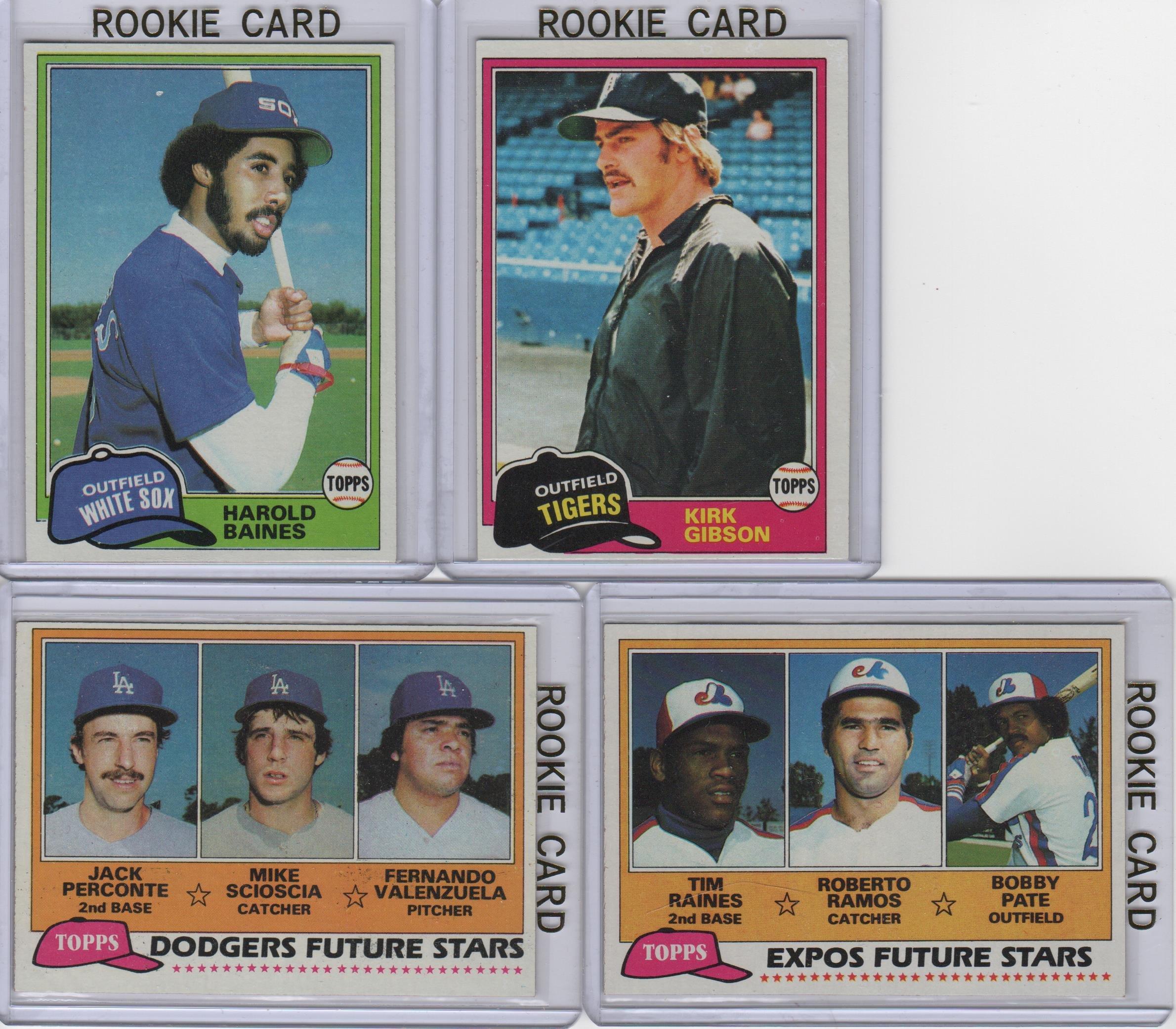 Galleon 1981 Topps Baseball Complete Set 1 726 Tim Raines
