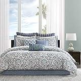 Echo Design Kamala Comforter Set, California King, Blue