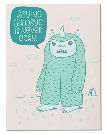 Amazon american greetings funny goodbye good luck card office american greetings funny goodbye good luck card m4hsunfo
