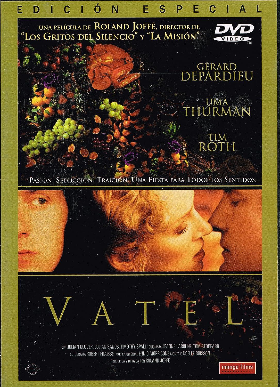 Vatel [DVD]: Amazon.es: Gérard Depardieu, Uma Thurman, Tim Roth, Timothy Spall, Julian Glover, Julian Sands, Murray Lachlan Young, Hywel Bennett, ...