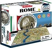 Più di un puzzle 3D e più di un modellino montabile, 4D Cityscape Roma è un divertente rompicapo per un regalo originale ed istruttivo.