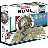 4D Cityscape Rome and Vatican City Time Puzzle