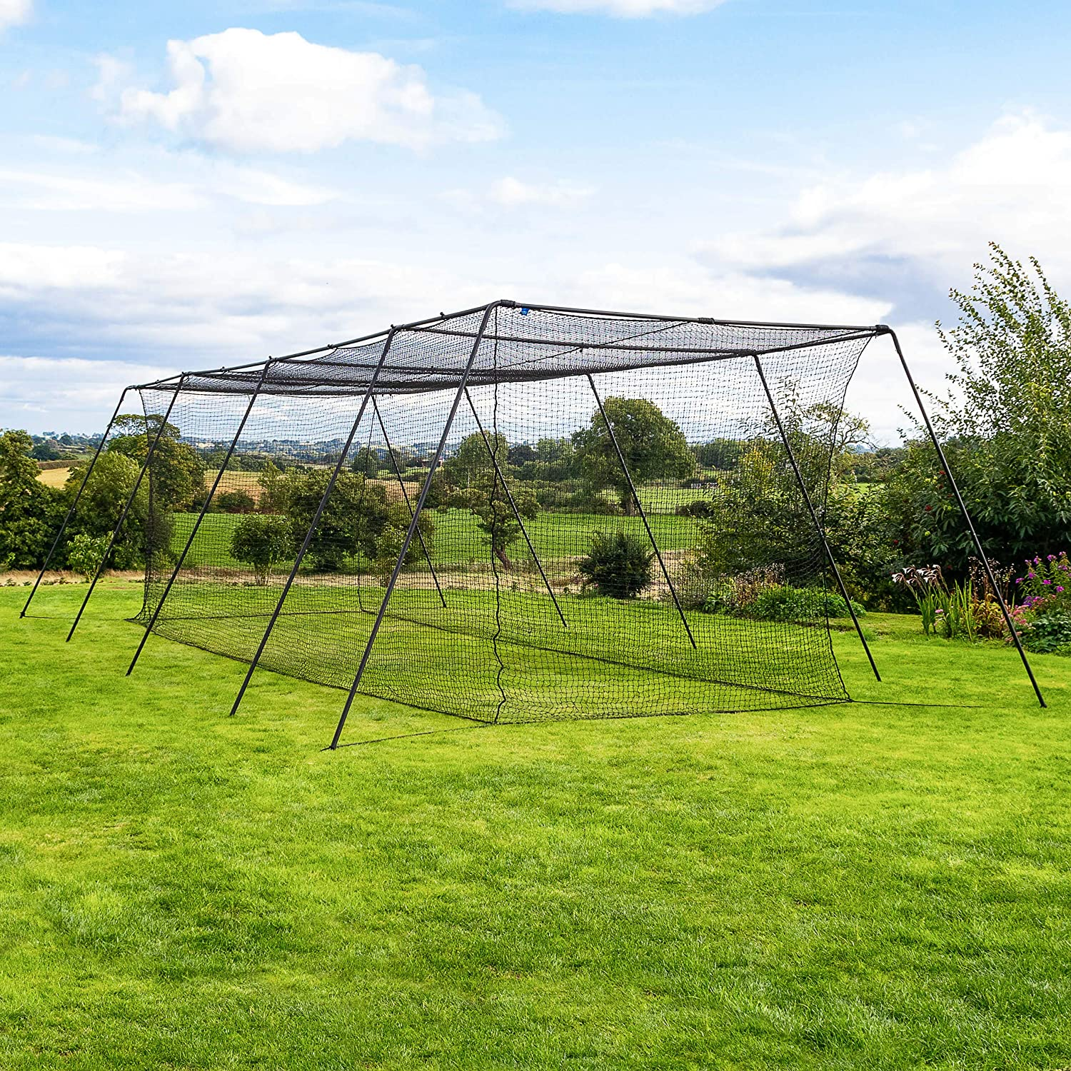 Fortress Trapezoid Baseball Batting Cage [Complete Package]