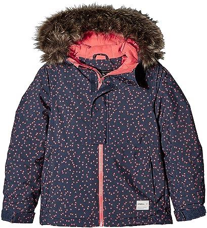 magasin en ligne grossiste prix plancher O'Neill Pg Radiant Jacket Blouson de Ski Fille, Blue AOP, FR ...