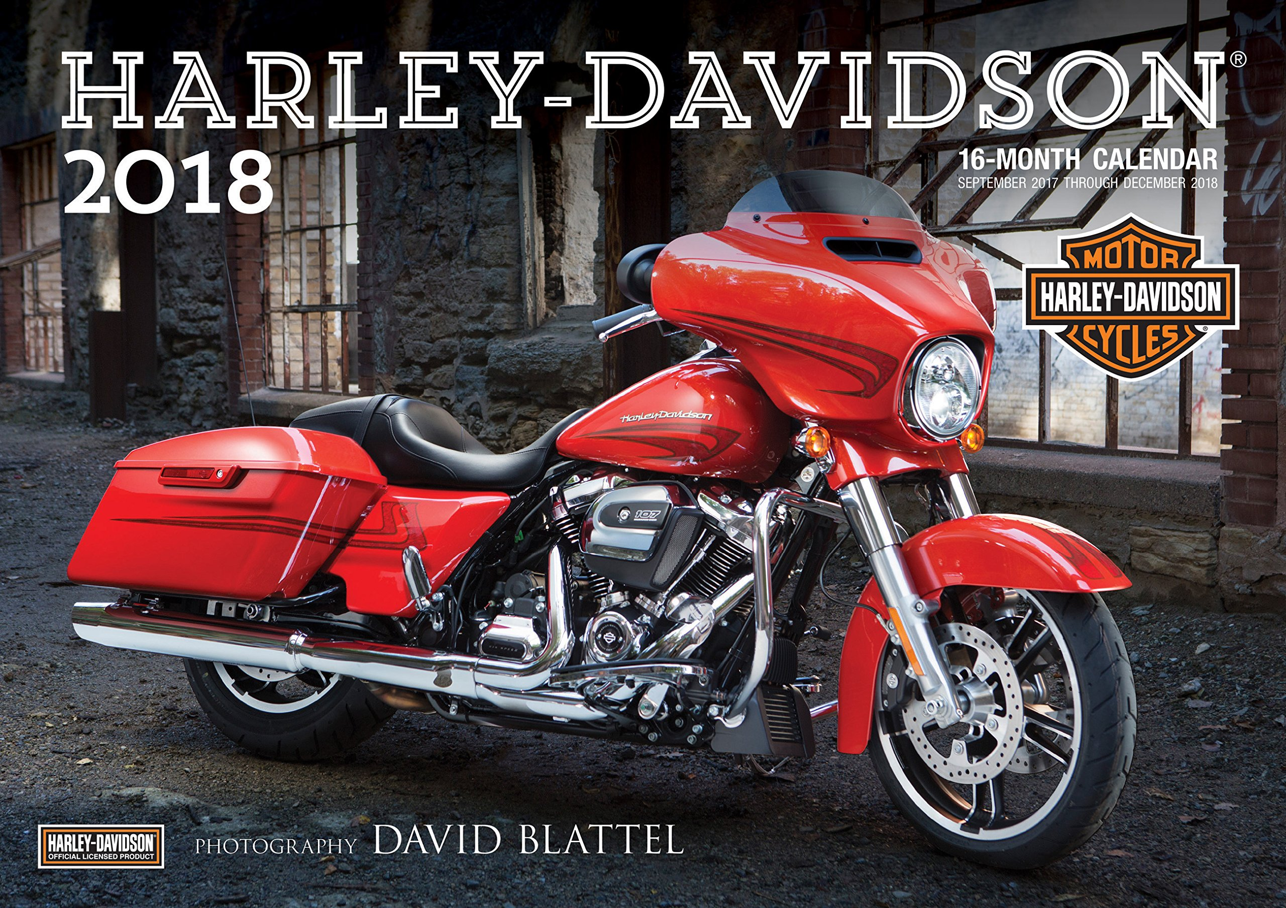 Harley-Davidson(r) 2018: 16-Month Calendar Includes September 2017 through December 2018 PDF