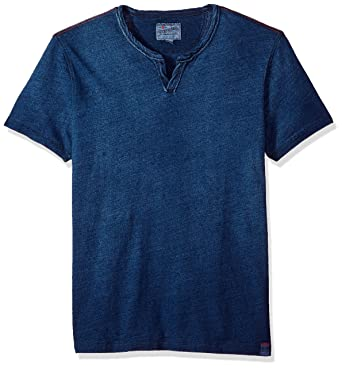 740c2feb33 Amazon.com  Lucky Brand Men s Notch Neck Tee Shirt  Clothing
