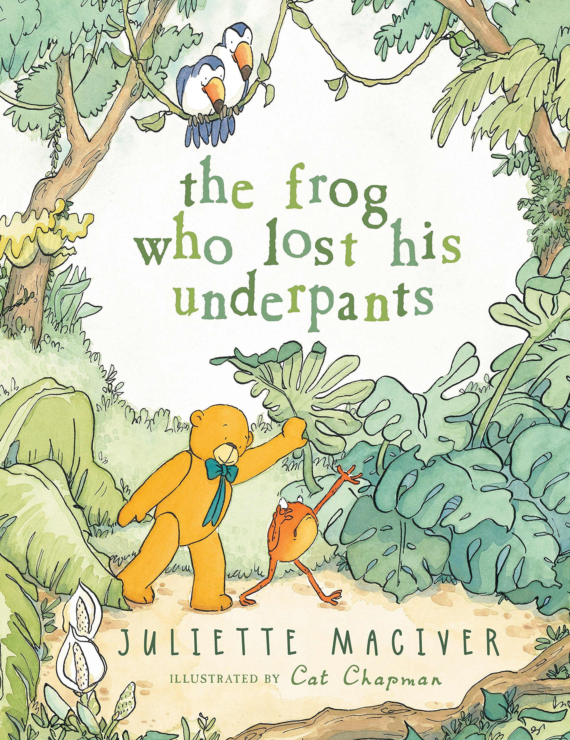 Amazon.com: The Frog Who Lost His Underpants (9780763667825 ...