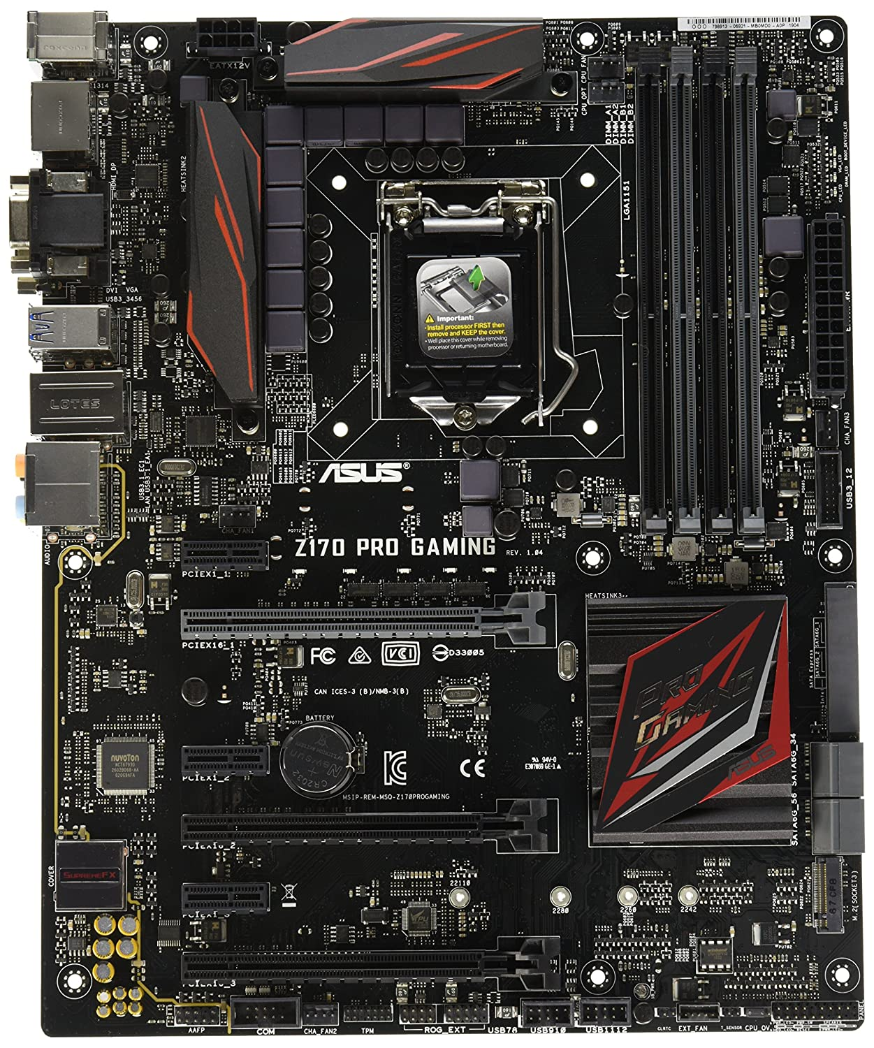 Asus Optimized Z170 Atx Hdmi Dvi D Dual Ddr4 3400 Motherboard H170 Pro Usb 31 Socket 1151 Lga Chipset Intel Lga1151 For 6th Gen Gaming Motherboards Computers