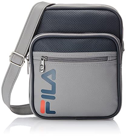 9910958882 Fila Synthetic Graphite Messenger Bag (13000845)  Amazon.in  Bags ...
