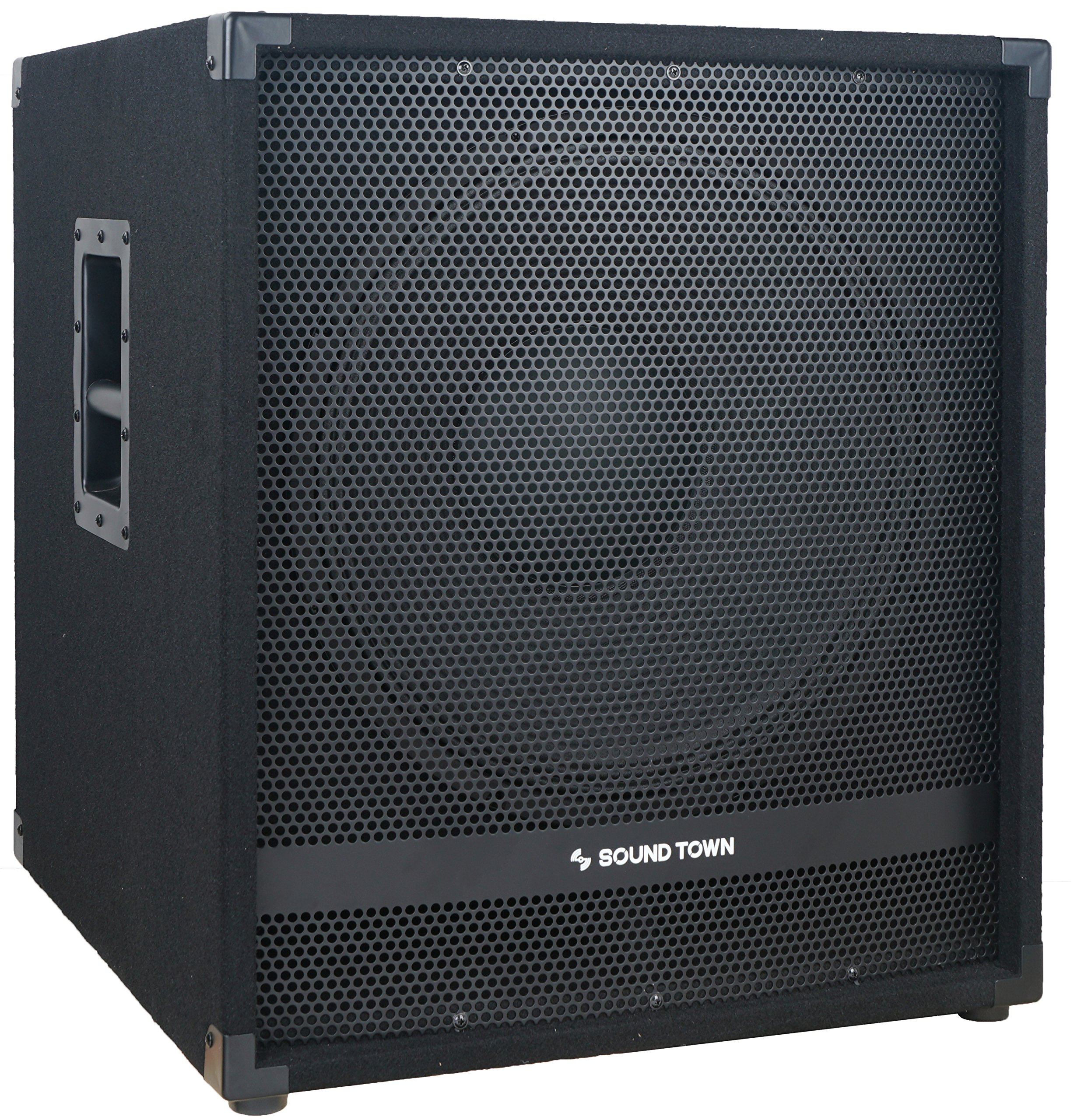 Sound Town METIS Series 1600 Watts 15'' Powered Subwoofer with DSP, DJ PA Pro Audio Sub with 4 inch Voice Coil (METIS-15SPW) by Sound Town