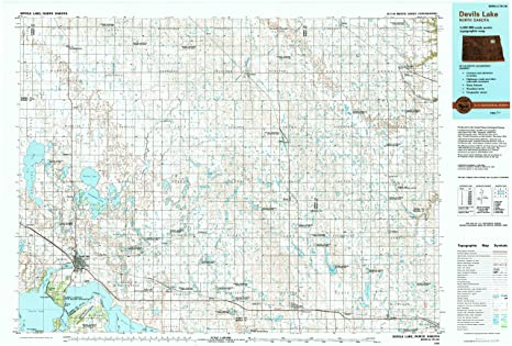 Amazon.com : YellowMaps Devils Lake ND topo map, 1:100000 ... on map of devils lake north dakota, map of cooperstown north dakota, map of lehr north dakota, map of bowbells north dakota, map of belfield north dakota, map of hazen north dakota, map of bowman north dakota, map of fort yates north dakota, map of gwinner north dakota, map of arnegard north dakota, map of new town north dakota, map of watford city north dakota, map of berthold north dakota, map of bottineau north dakota, map of richardton north dakota,