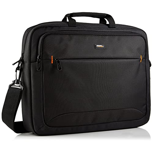AmazonBasics NC1406118R1 Laptop-Tasche, für eine Bildschirmdiagonale von 44cm (17,3Zoll) Schwarz