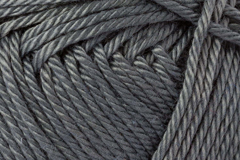 Schachenmayr Ovillo hilo de algodón para punto y ganchillo Catania 9801210, algodón, gris piedra, 11,5 x 5,2 x 6 cm: Amazon.es: Hogar