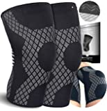Knee Support Brace - Compression Sleeve for Arthritis - Meniscus Tear - Joint Pain - ACL - Squats - Running - Crossfit…