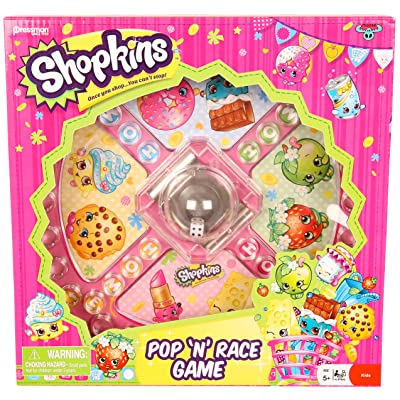 Shopkins Pop 'N' Race Game -- Classic Game with Shopkins Theme: Toys & Games