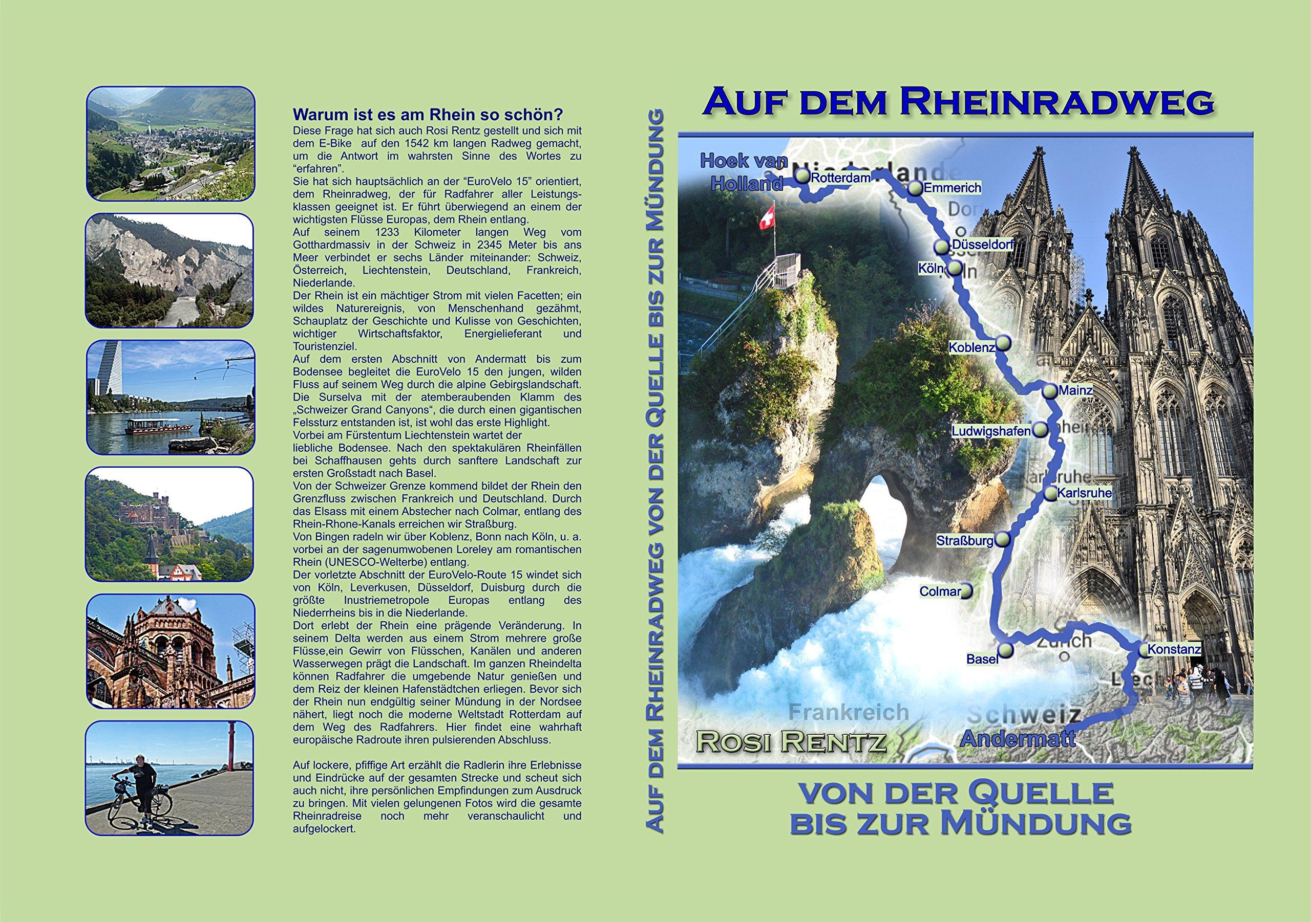 Auf dem Rheinradweg von der Quelle bis zur Mündung: Amazon.de: Rosi ...