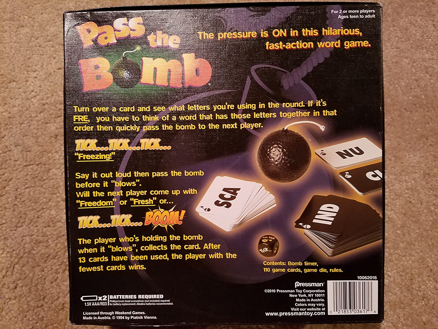 Buy Pass The Bomb Online at Low Prices in India - Amazon in