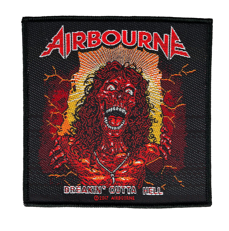 Global Merchandising Services AIRBOURNE - Breakin' Outta Hell - Aufnäher/Patch 259928