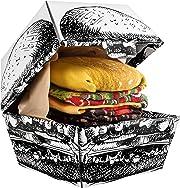 Se sei in cerca di una idea regalo originale divirtente ma anche utile, allora questo è quello che fa per te! Due paia di divertenti calzini presentati come se fossero un goloso Hamburger!
