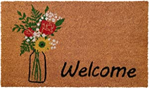 Home & More 103381729 Summer Bouquet Doormat