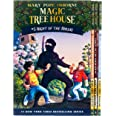 Magic Tree House Boxed Set, Books 5-8: Night of the Ninjas, Afternoon on the Amazon, Sunset of the Sabertooth, and Midnight o