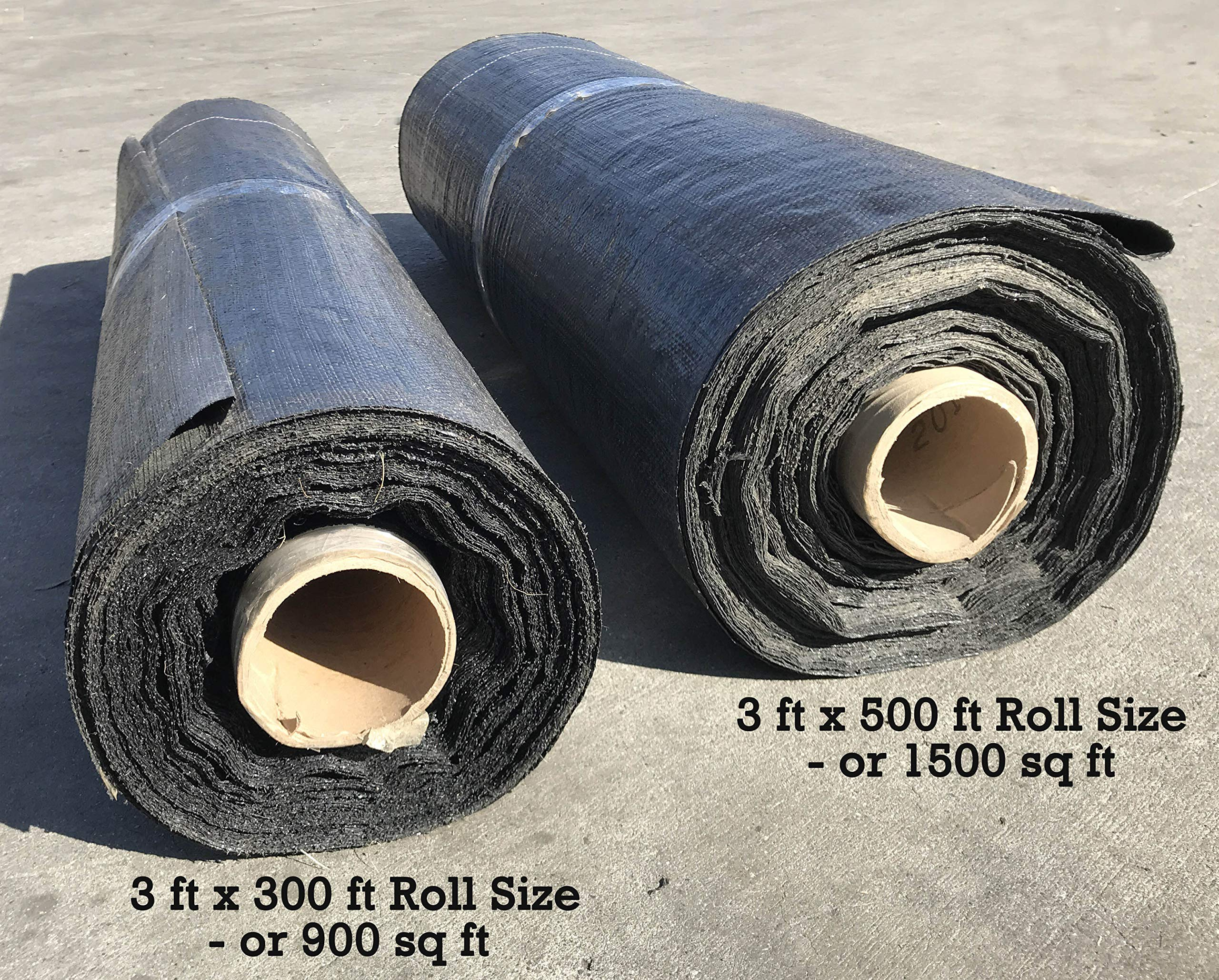 Sandbaggy Landscape Fabric - for Weed Barrier, Ground Cover, Garden Fabric (3 ft x 500 ft Roll) by Sandbaggy (Image #2)