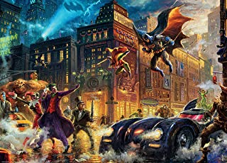 product image for Ceaco Thomas Kinkade - DC Comics - Gotham City Puzzle - 1000 Pieces