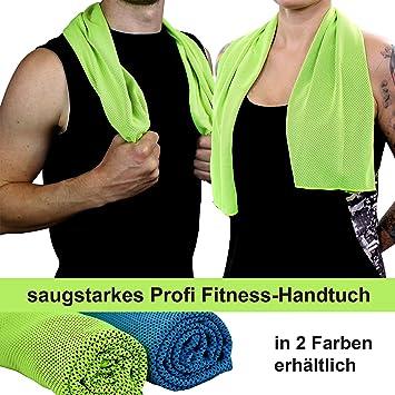 6833ee0e6 Toalla de microfibra para deporte y fitness, con función refrigerante, muy  absorbente, ultraligera