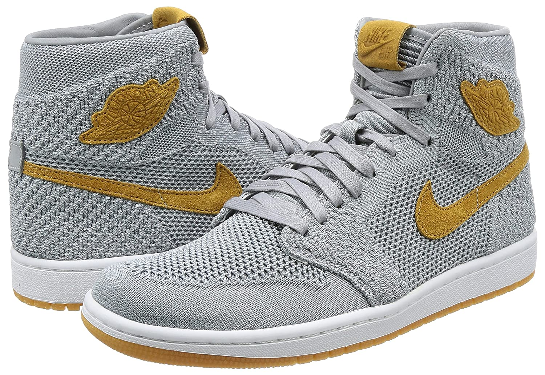 reputable site ba759 adddf Nike AIR Jordan 1 Retro HI Flyknit  Flyknit  - 919704-025 - Size 10.5 -   Amazon.co.uk  Shoes   Bags