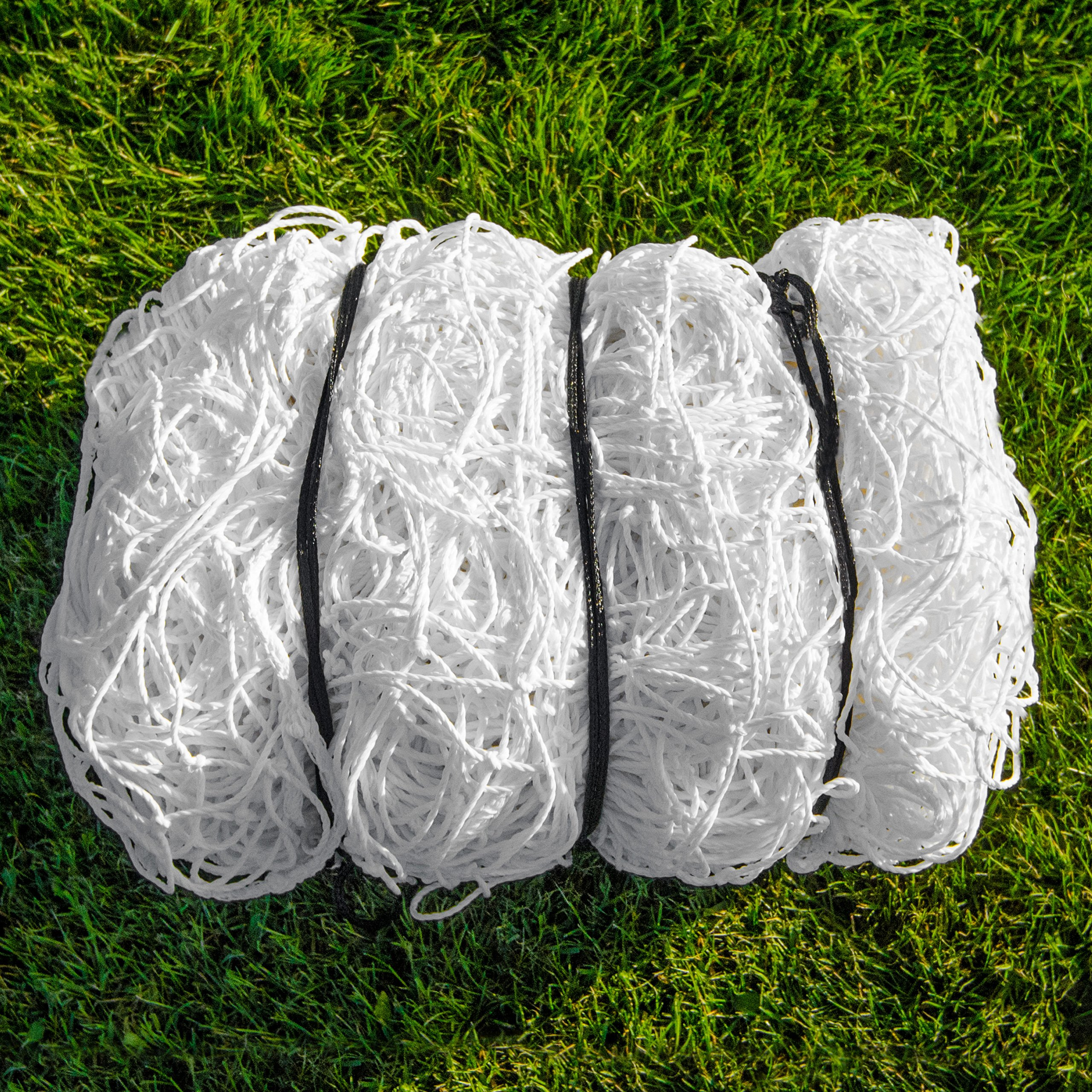 SOCCER GOAL NET - Official FULL SIZE FIFA Spec - 24x8 / 24' x 8' Super Heavy Duty [NET WORLD SPORTS]