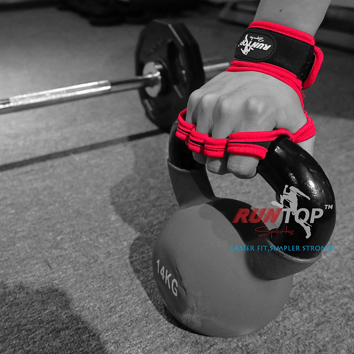 amazon com weight lifting gloves with silicon padding by runtop