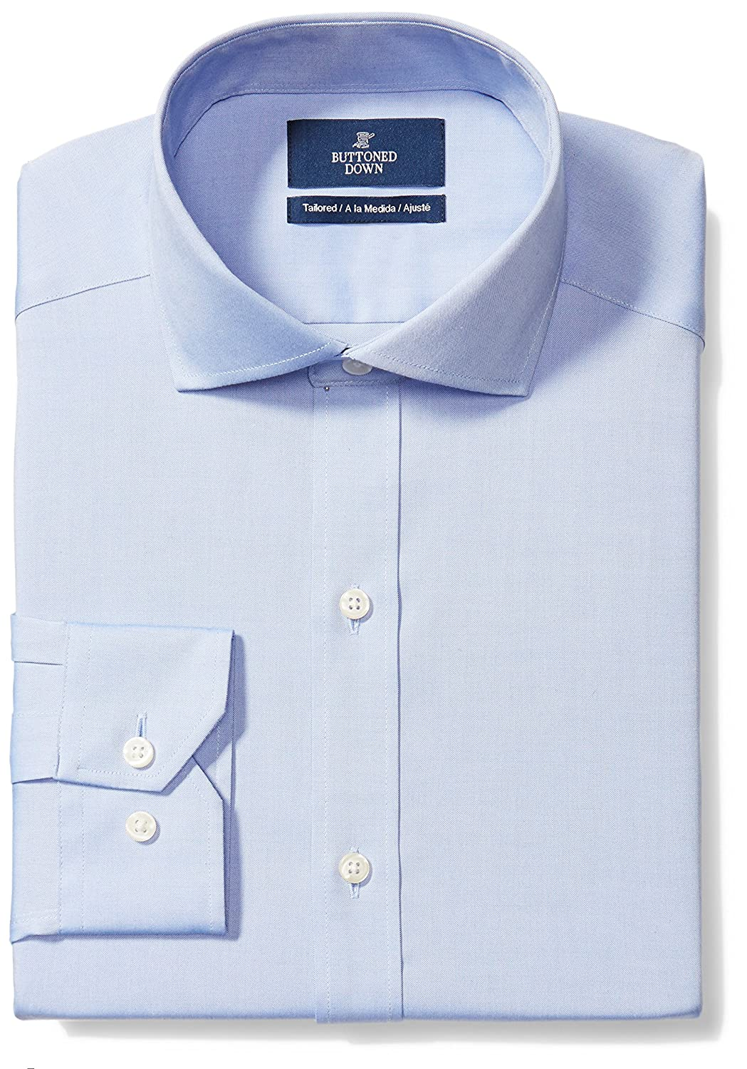 Amazon Amazon Brand Buttoned Down Mens Tailored Fit Cutaway