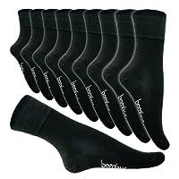 5-10 Paar Bambus Socken Herren Bambussocken Normallang Damen