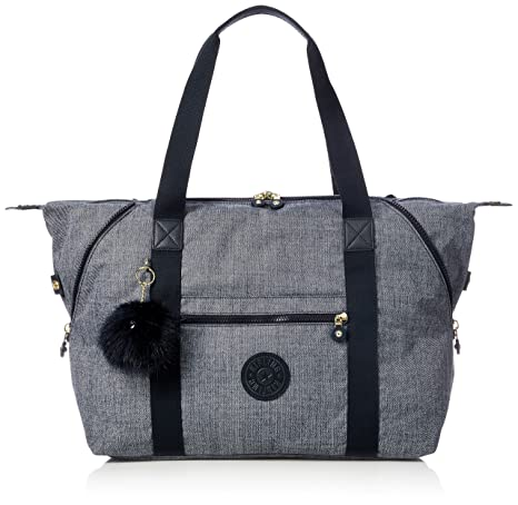 Kipling Art M Bolsa de Viaje, 45 cm, Cotton Jeans: Amazon.es ...