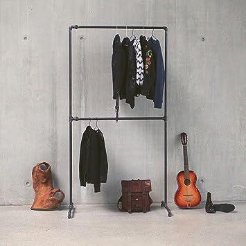 KWERQUS Kleiderstange im Industrie Design| Anna | Stabile ...