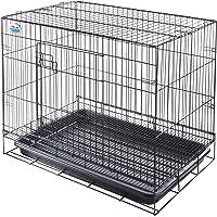 Dr.Cage Foldable Cage for Dog, Black