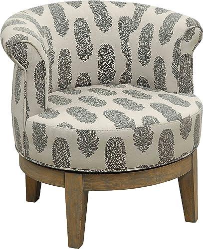 Treasure Trove Accents Swivel Accent Chair