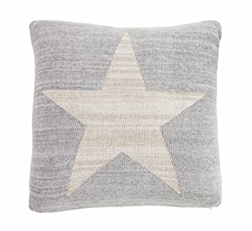 Amazon.com: New Haven – De puro algodón de punto almohada ...