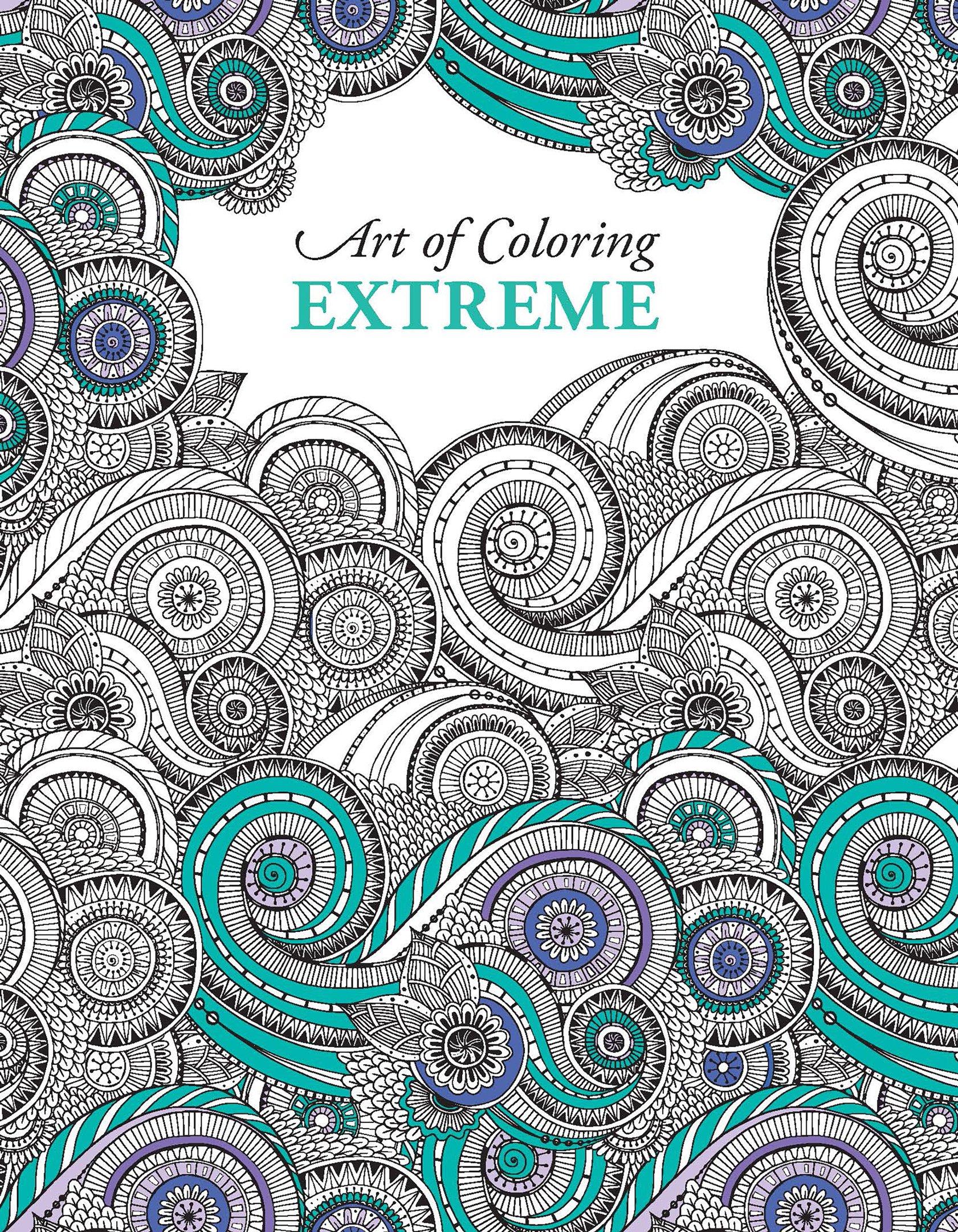 Amazon Com Art Of Coloring Extreme Leisure Arts 6902 9781464757280 Liesure Arts Books