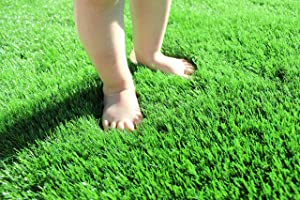 Artificial Grass for Dogs Pee Pads Artificial Synthetic Grass shag Turf Realistic Indoor Outdoor Landscape Fake Astro Turf Dog Mat Pad Synthetic Mat Rug Carpet for Garden Backyard (2.2 ft x 3.2 ft)