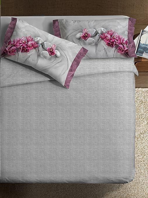 4 opinioni per Ipersan Parure copripiumino fotografico Fine-Art Disegno Asian grigio/rosa