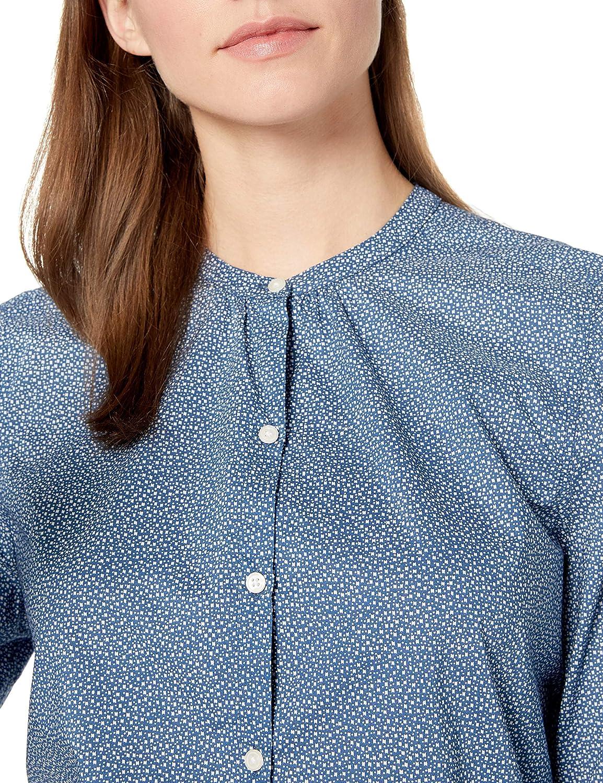 Marca Goodthreads Lightweight Cotton Sleeve-Interest Shirt Mujer