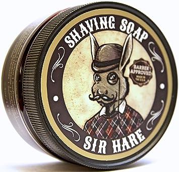 Amazon Com Premium Shaving Soap For Men By Sir Hare Barbershop