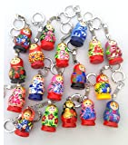 Key Chain Russian Traditional Nesting Doll