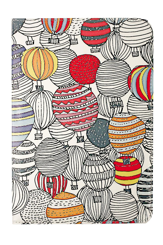 emartbuy Universal 10-11 Zoll Hei/ßluftballons Mehrfachwinkel Folio Brieftasche Case Cover Mit Steckpl/ätze F/ür Bankkarten Und Stylus Stift Geeignet F/ür Ausgew/ählte Ger/äte Aufgef/ührt Unten