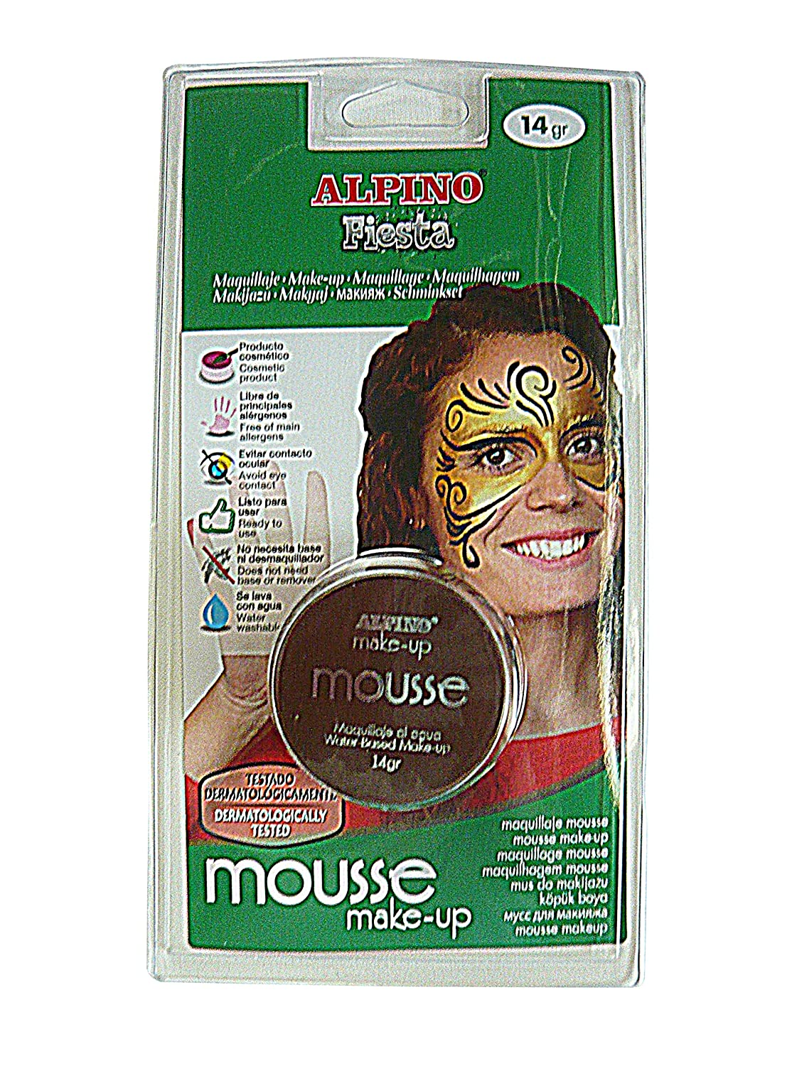 Blister maquillaje mousse Alpino DL010178