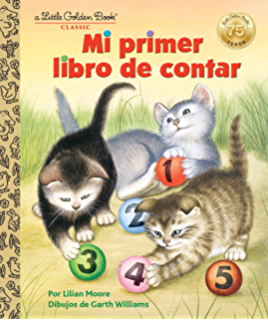 Mi primer libro de contar (Little Golden Book) (Spanish Edition)