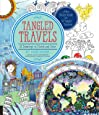 Tangled Travels: 52 Drawings to Finish and Color (Tangled Color and Draw)