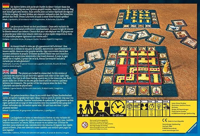 Ravensburger - Labyrinth: The Duel: Amazon.es: Juguetes y juegos
